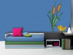 obrázek Rákosí-01, Samolepky na zeď