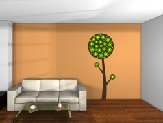 obrázek Strom s květy 2