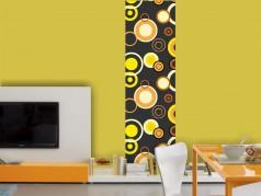 PokojovaDekorace.cz, Tapety, Tapety desig panel-Kruhy-012, barevná, 50x275cm