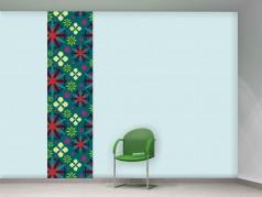 PokojovaDekorace.cz, Tapety, Tapetový panel-021, barevná, 50x275cm