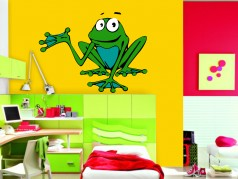 obrázek Žába Julinka, Dětské samolepky na zeď