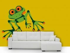 obrázek Žabák Vilém, Dětské samolepky na zeď
