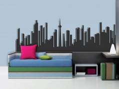 obrázek Město-01, Samolepky na zeď