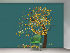 obrázek Strom-02, Samolepky na zeď