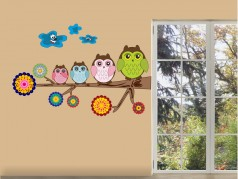 obrázek Dětské motivy-Sovy-16
