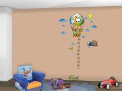 obrázek Dětský metr-09, Samolepky na zeď