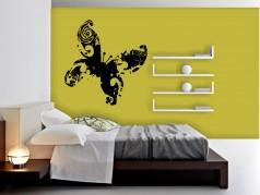 obrázek Abstraktní Motýl - 01, Samolepky na zeď