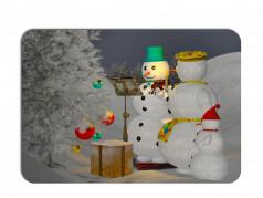obrázek Vánoční prostírání-019