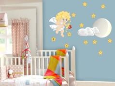 obrázek Dětské samolepky-Anděl