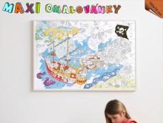 obrázek Omalovánky Maxi - Piráti