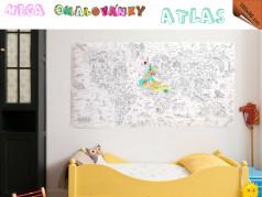 obrázek Omalovánky Mega - Atlas