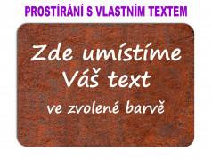obrázek Prostírání s vlastním textem-600