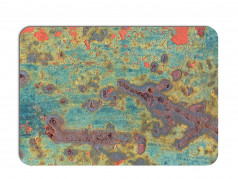 obrázek Prostírání rezavý kov-651