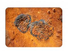 obrázek Prostírání rezavý kov-661