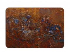 obrázek Prostírání rezavý kov-667