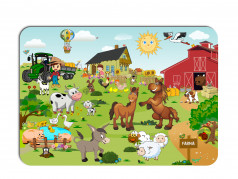 obrázek Dětské prostírání-068 - Farma