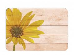 obrázek Prostírání - 510, Kytky na dřevě slunečnice