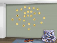 obrázek Hvězdy - 01, Dětské samolepky na zeď