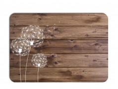 obrázek Prostírání - 511, Kytky na dřevě pampeliška