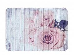obrázek Prostírání - 512, Dřevo s květy růže