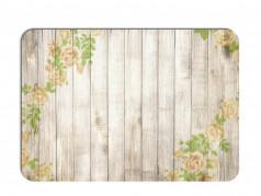 obrázek Prostírání - 515, Kytky na dřevě růže