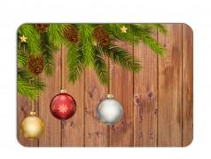 obrázek Vánoční prostírání - 178, Baňky