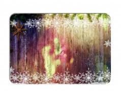 obrázek Vánoční prostírání - 181, Malba na dřevě