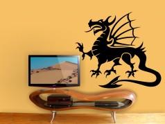 obrázek Čínský drak, Samolepky na zeď