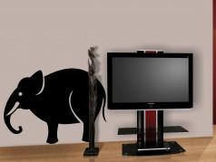 obrázek Slon Jumbo, Samolepky na zeď