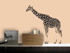 obrázek Žirafa - 01, Samolepky na zeď