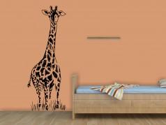 obrázek Žirafa - 07, Samolepky na zeď