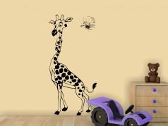 obrázek Samolepky na zeď-Žirafa-08