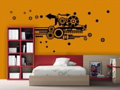 obrázek Samolepící dekorace-Kruhy-03