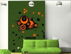 obrázek Dekorace na zeď-Kruhy-04