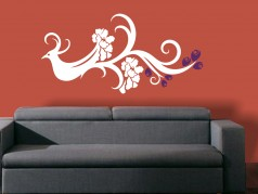 obrázek Designové-10, Samolepky na zeď