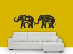 obrázek Sloni na procházce, Samolepky na zeď
