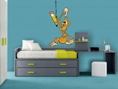 obrázek Samolepka na stěnu-Opice-03