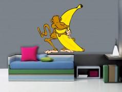 obrázek Dekorace na zeď-Opice-04