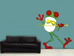 obrázek Žabák - 01, Dětské samolepky na zeď