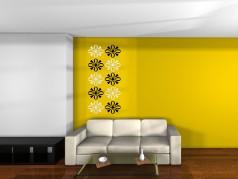 obrázek Art ornament 1, Samolepky na zeď