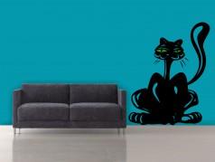 obrázek Kočka-03, Samolepky na zeď