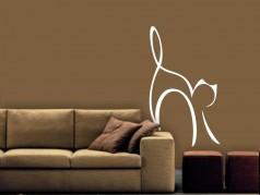 obrázek Samolepky na zeď-Silueta-Kočky-22