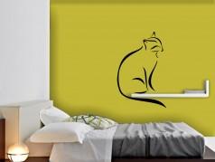 obrázek Dekorativní samolepky-Silueta-Kočky-23