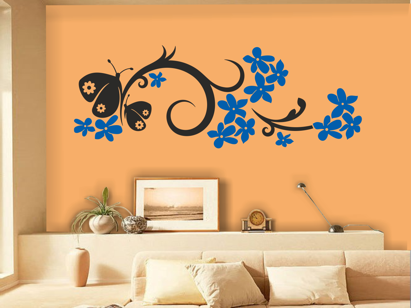 Samolepící dekorace na zeď