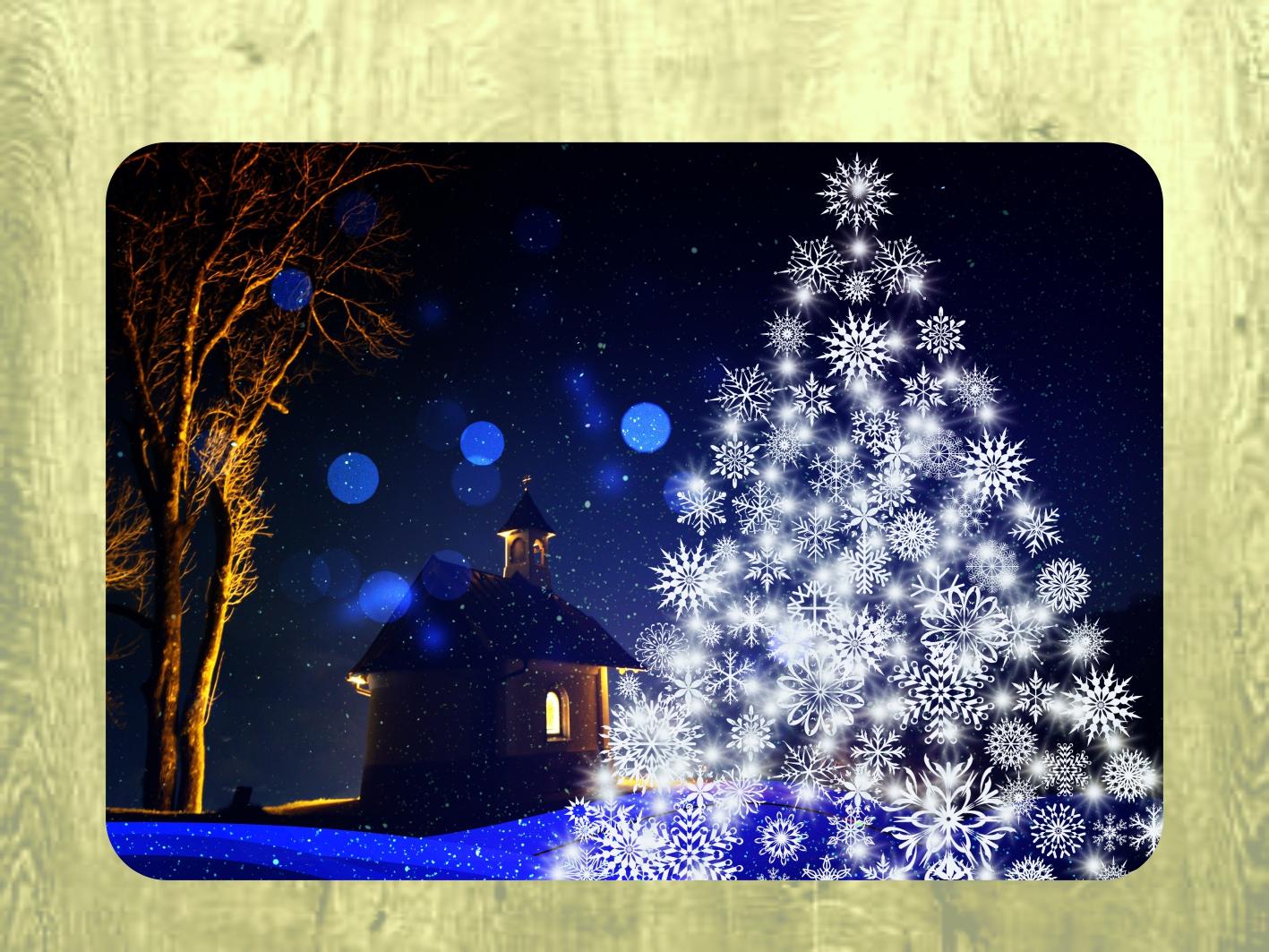 Vánoční prostírání; Placemats on the table; Vianočné prestieranie; Christmas table setting