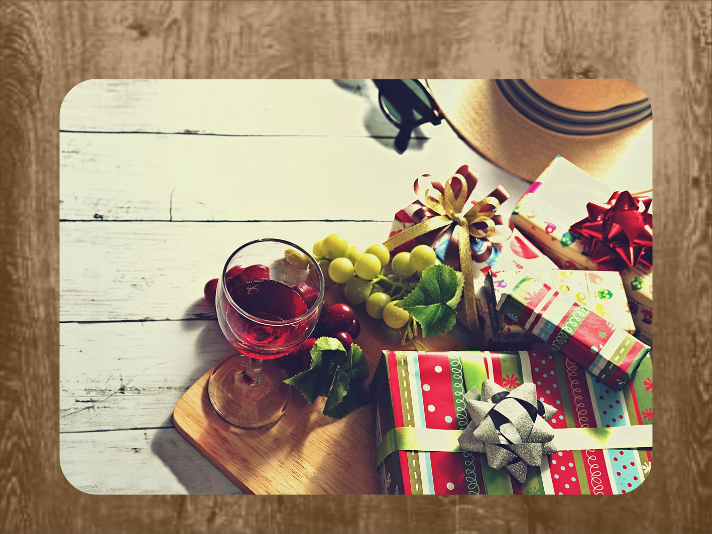 Vánoční prostírání; Placemats on the table; Vianočné prestieranie; Christmas table setting