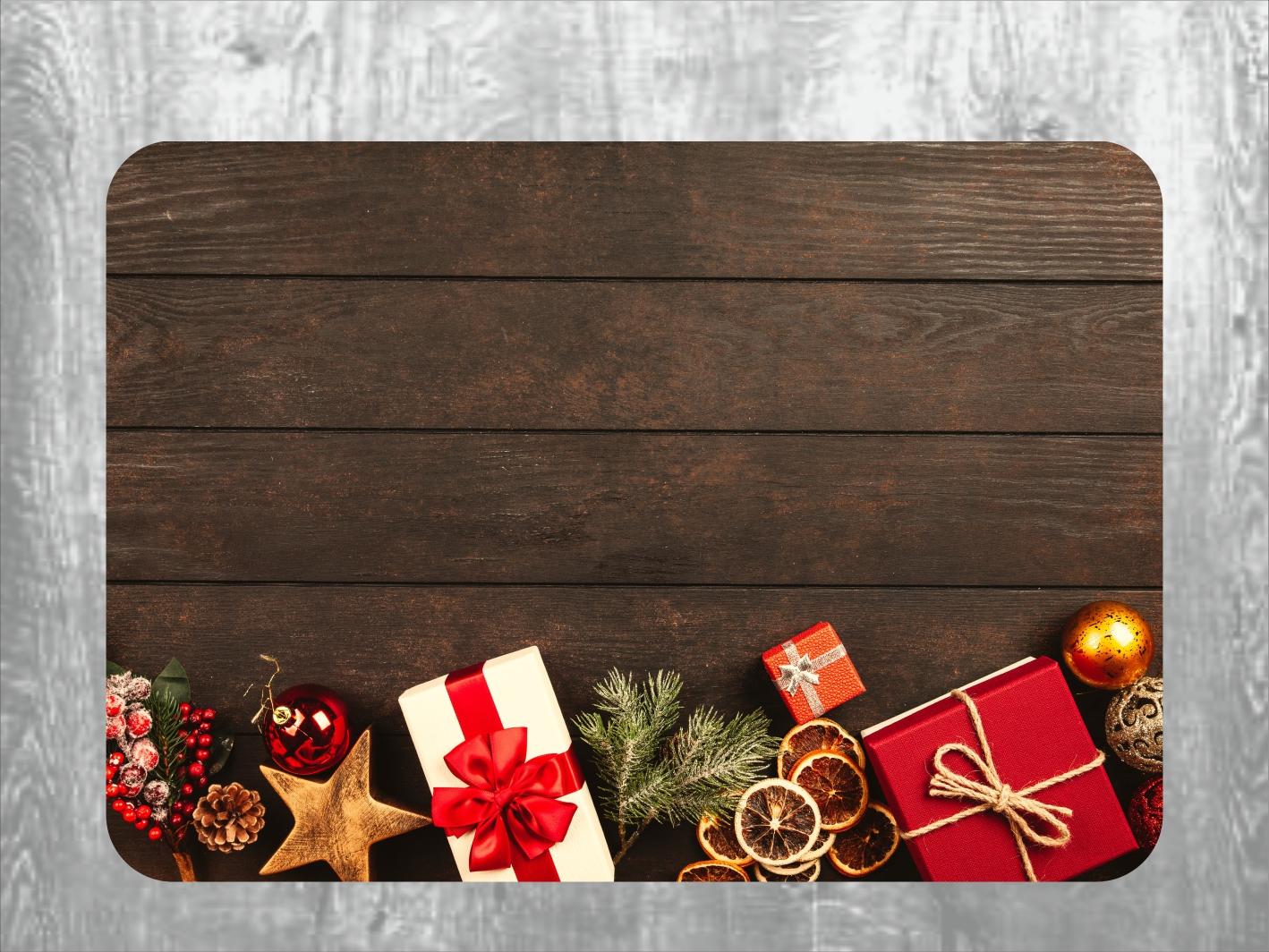 Vánoční prostírání na stůl