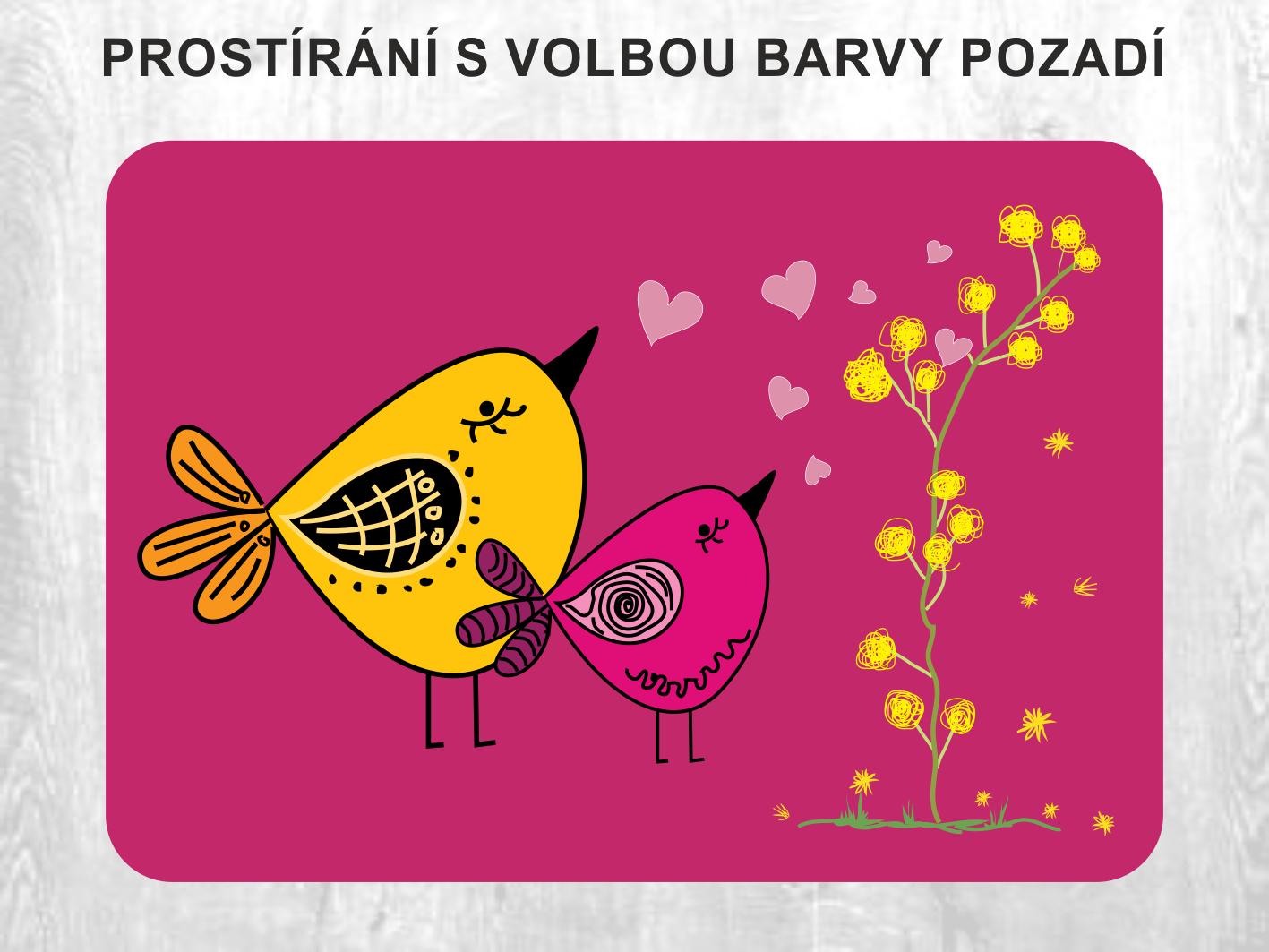 Prostírání; Valentýnské prostírání na stůl; Valentýn; Svátek zamilovaných; Dárek na valentýna; Laying; Valentine table set; Valentine's day; Valentine's day; Valentine's Day gift;  Prestieranie; Valentínske prestieranie na stôl; Valentín; Sviatok zamilovaných; Darček na valentína