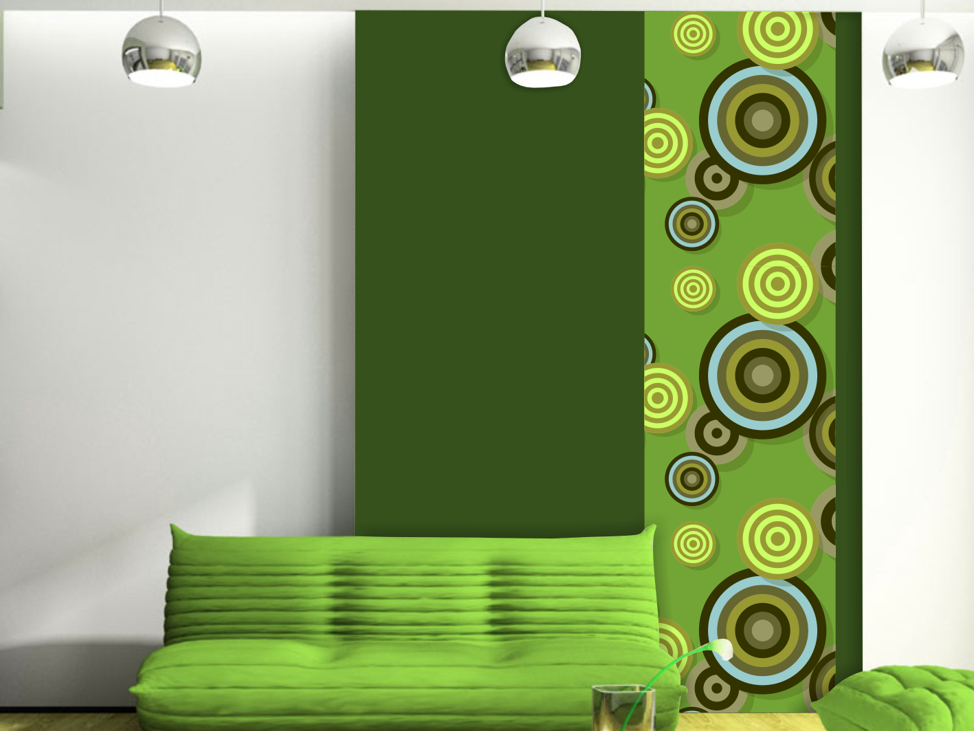 Tapety, design panely
